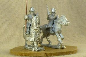 FEC46 Mid 13th C Mt Man-at-Arms/Mt Knight